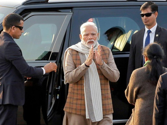 China firmly opposes Modi's visit to border region