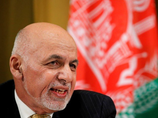 Afghanistan's President Ashraf Ghani attends a two-day conference on Afghanistan at the United Nations in Geneva Switzerland