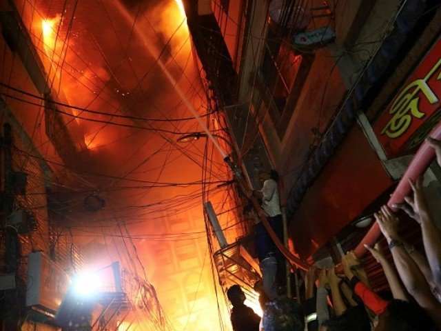 Fire in centuries-old part of Bangladesh's capital kills 70