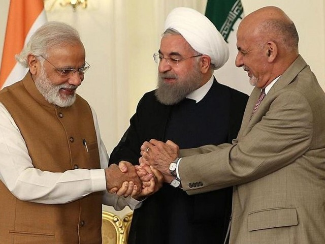 In May 2016, India, Iran and Afghanistan agreed to establish a 'Transit and Transport Corridor' using Chabahar Port as regional hub for sea transportation. PHOTO: REUTERS