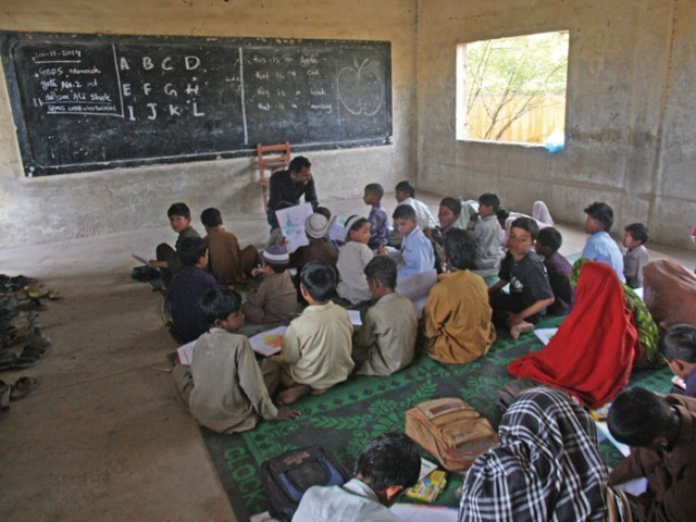 Project aims at increasing, sustaining student enrollment in primary, middle and secondary public schools. PHOTO: FILE