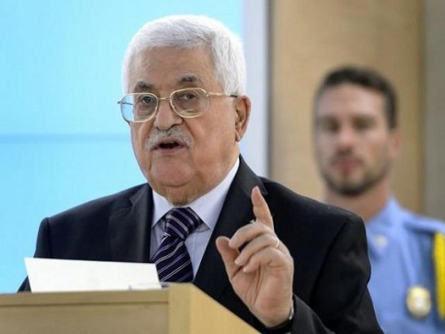Palestinian President Mahmoud Abbas. PHOTO: AFP