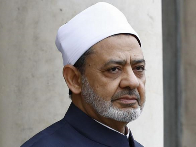 "Sheikh Ahmed al-Tayeb, grand imam of Egypt's famed Al-Azhar institution, said polygamy was the result of a ""lack of understanding of the Koran"". PHOTO: AFP"