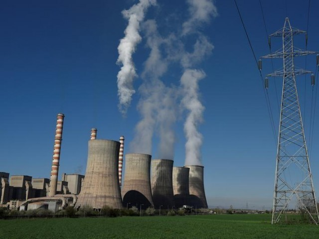 A view of the coal-fired power station. PHOTO: REUTERS
