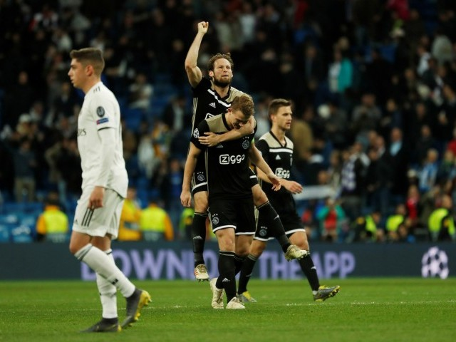 Ajax knock Real Madrid out of Champions League