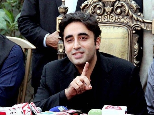 Pakistan Peoples Party (PPP) Chairman Bilawal Bhutto Zardari. PHOTO:APP/FILE