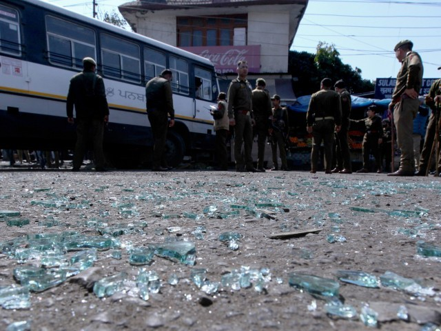 Grenade attack in India's Jammu injures 18
