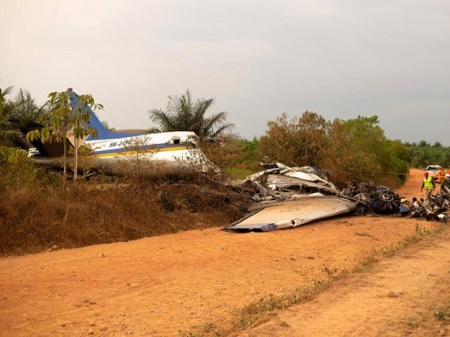 Colombia plane crash kills 14