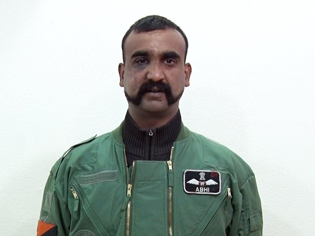Indian Air Force (IAF) Wing Commander. SCREENGRAB