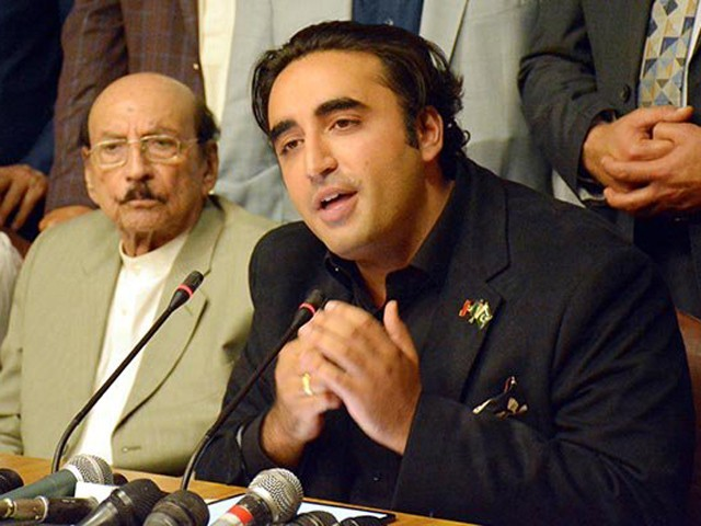 PPP chairman urges masses to read, think, speak and ignore 'fascist trolls who run this country'. PHOTO: ONLINE/FILE