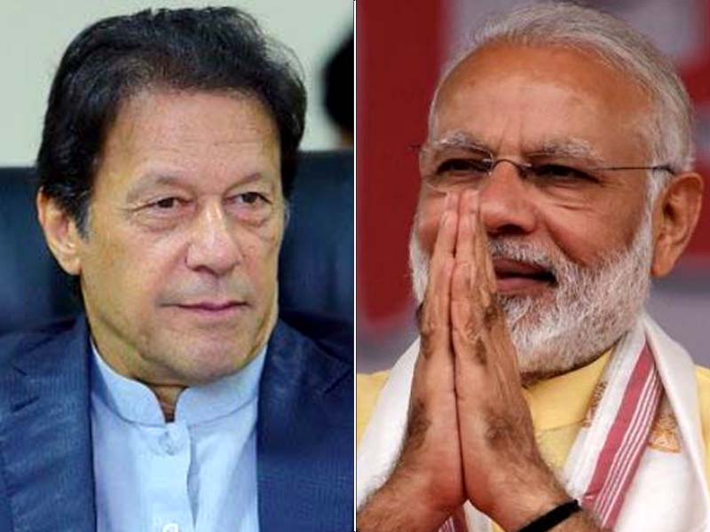 Indian premier says people of subcontinent should work together for peaceful, prosperous region in message to PM Imran. FILE PHOTOS