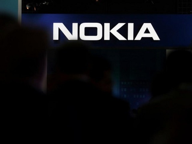 The Nokia logo is seen at the Mobile World Congress in Barcelona, Spain, February 28, 2018. PHOTO: REUTERS
