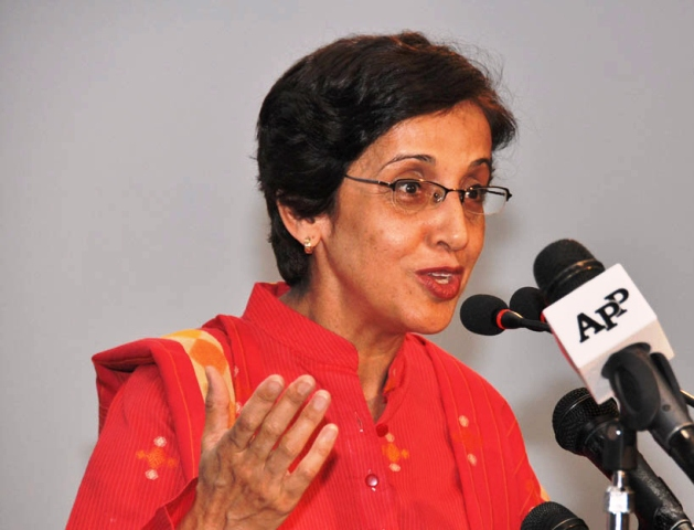 Tehmina Janjua. PHOTO: FILE