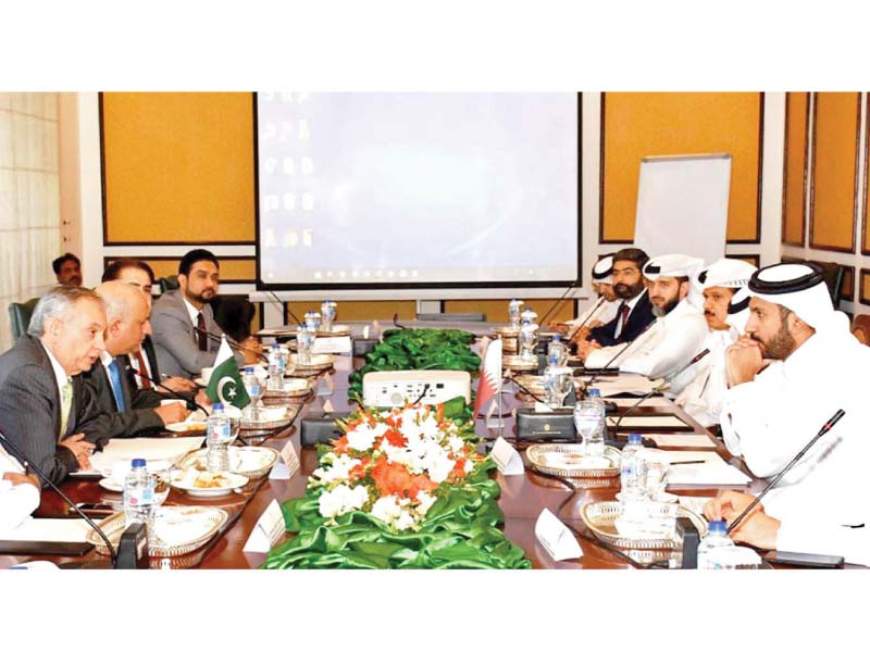 Qatar plans investments in Pakistan for next 10-15 years