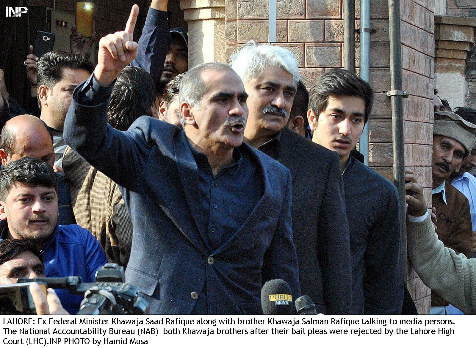 Khawaja Saad Rafique. PHOTO: INP