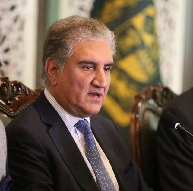 Foreign Minister Shah Mahmood Qureshi. PHOTO: INSTAGRAM/@smqureshi.pti