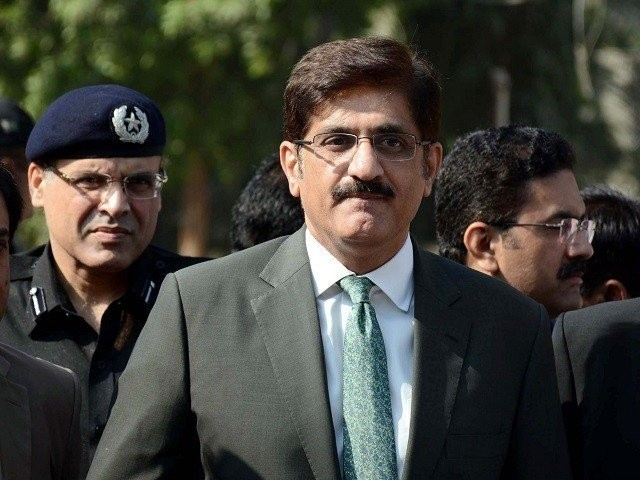 Chief Minister Sindh Syed Murad Ali Shah. PHOTO:PPI
