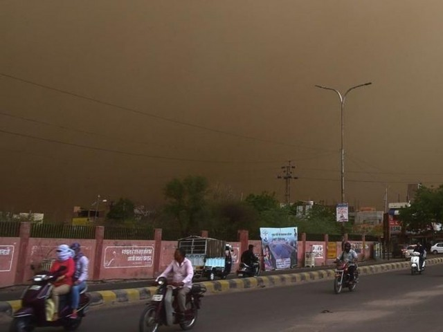 30 people killed in dust storm, heavy rains in India