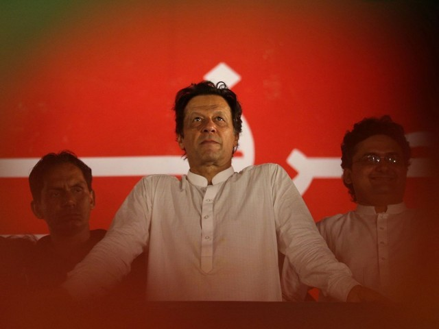 Prime Minister Imran Khan. PHOTO:  REUTERS