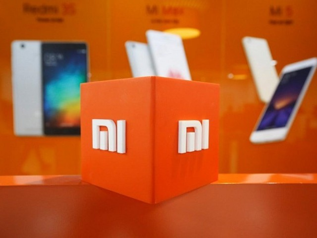 The logo of Xiaomi is seen inside the company's office in Bengaluru, India, January 18, 2018.   PHOTO: REUTERS
