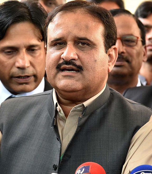 Punjab CM Usman Buzdar. PHOTO: FILE