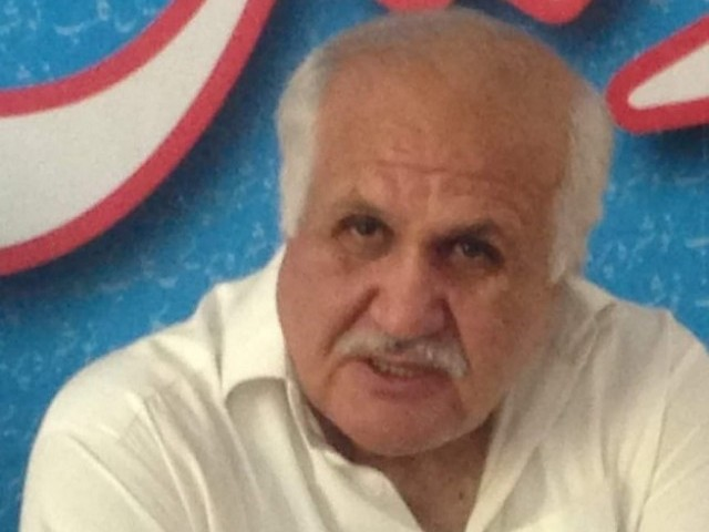 K-P MPA Liaquat Khattak, the brother of Defence Minister Pervez Khattak. PHOTO: Express