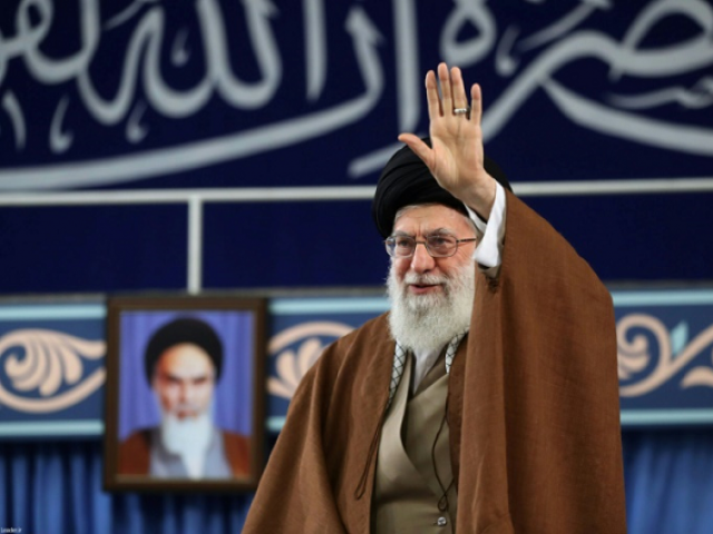 Iranian Supreme Leader Ayatollah Ali Khamenei.PHOTO: AFP