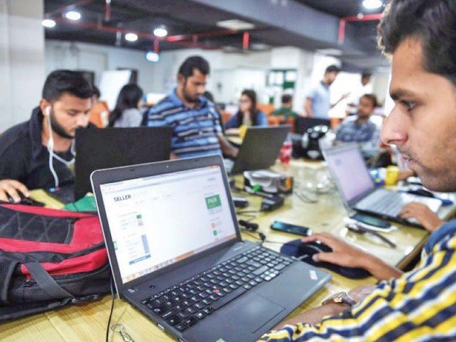 Pakistani companies may be willing to give millions to foreign tech companies for software, but they don't opt for local software, which comes cheaply, said Mela. PHOTO: AFP