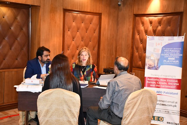 aeo pakistan collaborates with playfair for global migration services