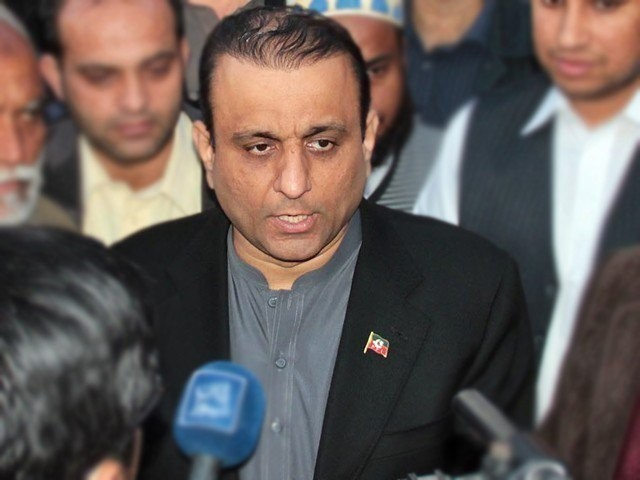 PTI leader Aleem Khan. PHOTO: FILE