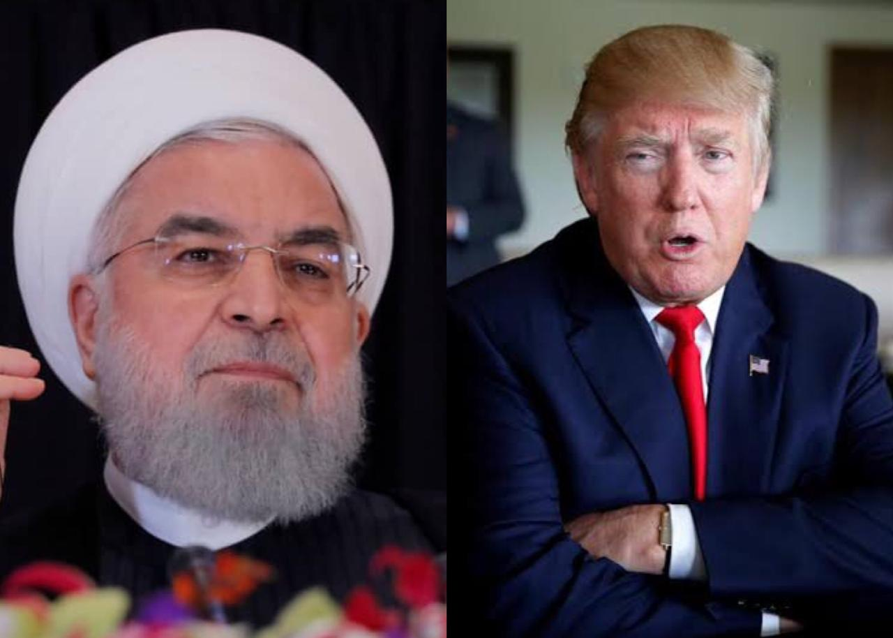 A file photo of Iranian President Hassan Rouhani and US President Donald Trump. PHOTO: REUTERS