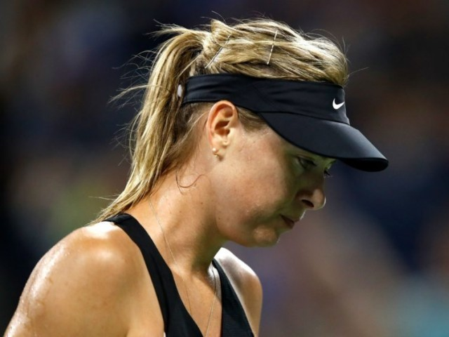 In February the world number 35 said she had undergone a small procedure to fix a long-standing shoulder problem. PHOTO: AFP