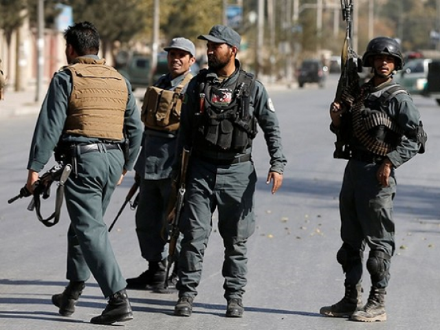Friendly airstrike kills 17 Afghan policemen