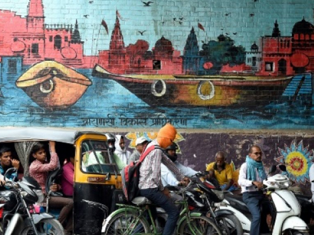 UP, which has given India nine prime ministers, lies at the centre of the country's vast northern Hindi-speaking belt, home to around a third of India's 1.3-billion population and which in 2014 formed the core of the BJP's support. PHOTO: AFP