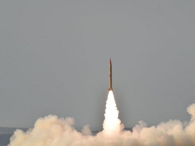 Pakistan conducts successful training launch of ballistic missile Shaheen-II