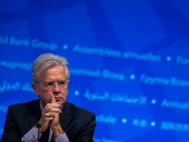 IMF Director Communications Gerry Rice. PHOTO: REUTERS