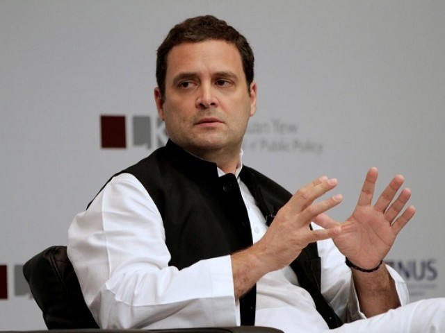 Indian Congress Leader Rahul Gandhi. PHOTO: REUTERS