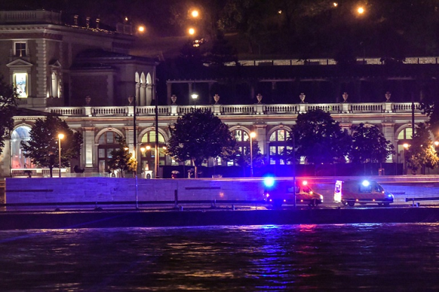 The deadly boat accident happened near the parliament building in the heart of the Hungarian capital. PHOTO: AFP