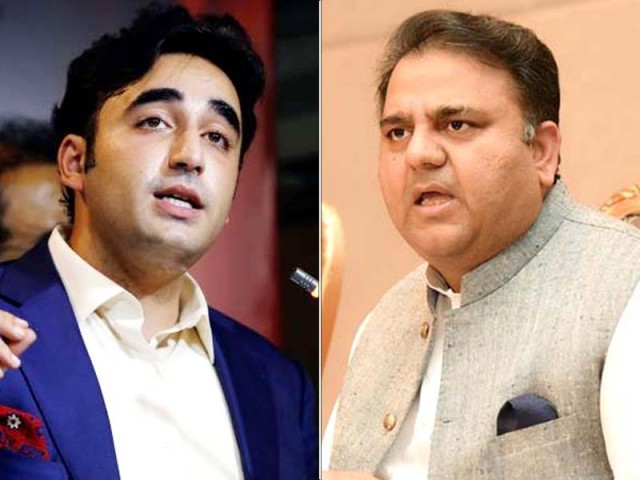 Don't play politics on the blood of martyrs, Fawad hits back at PPP chief. PHOTO: EXPRESS/FILE