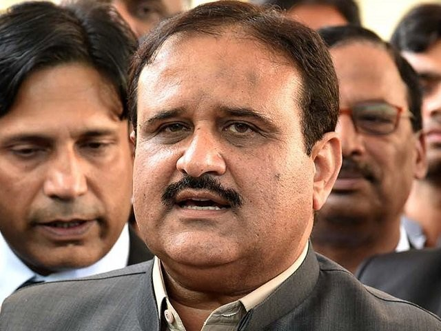 Punjab Chief Minister Usman Buzdar. PHOTO:INP