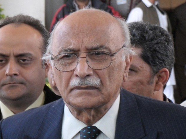 Air Marshall (retd) Asghar Khan. PHOTO: ZAFAR ASLAM