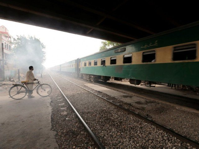 File photo of Karachi Circular Railways. PHOTO: REUTERS
