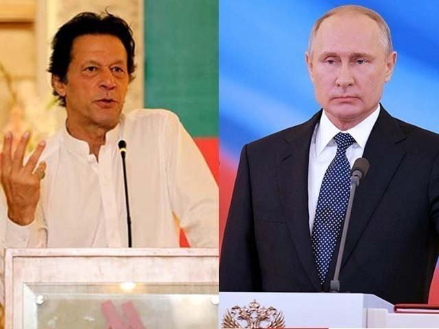 Khan, Putin hold informal meeting on sidelines of 19th SCO Summit