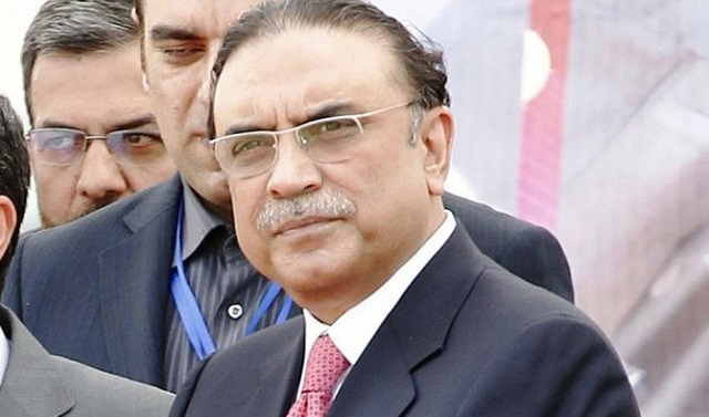 Asif Ali Zardari. PHOTO: REUTERS
