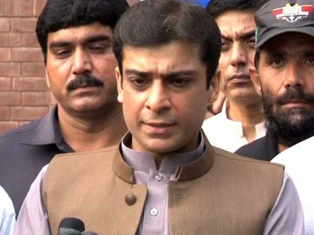 Hamza Shehbaz. PHOTO: EXPRESS