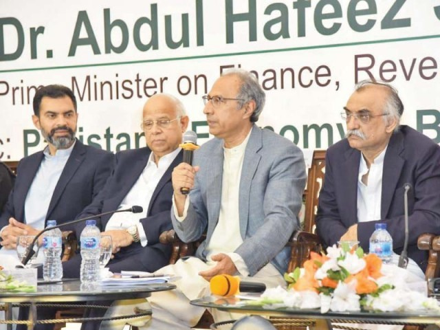 "Shaikh said that to increase exports ""we are offering the business community electricity and gas at lower prices, and the government is bearing the cost of those subsidies"". PHOTO: TRIBUNE"