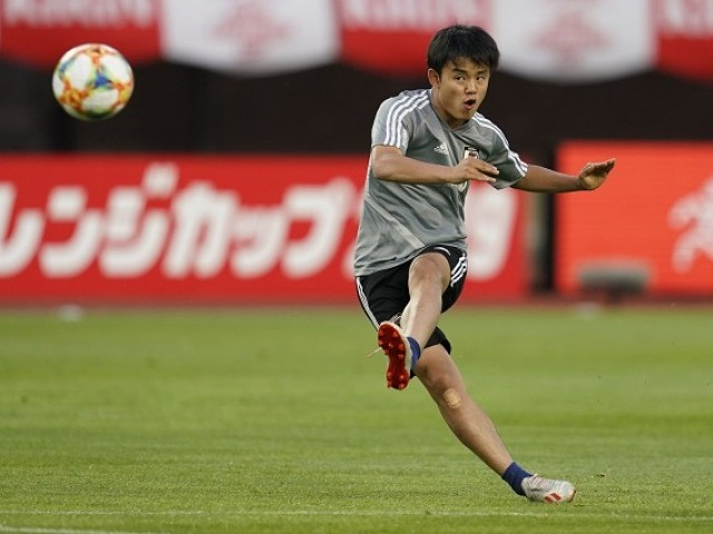 Teenager Kubo 'proud' of 'Japanese Messi' nickname