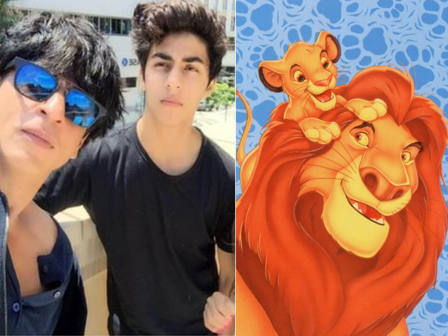 Image result for the lion king shahrukh and aryan