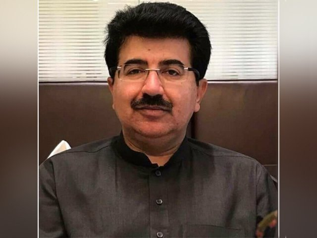 Senate Chairman Sadiq Sanjrani. PHOTO: EXPRESS
