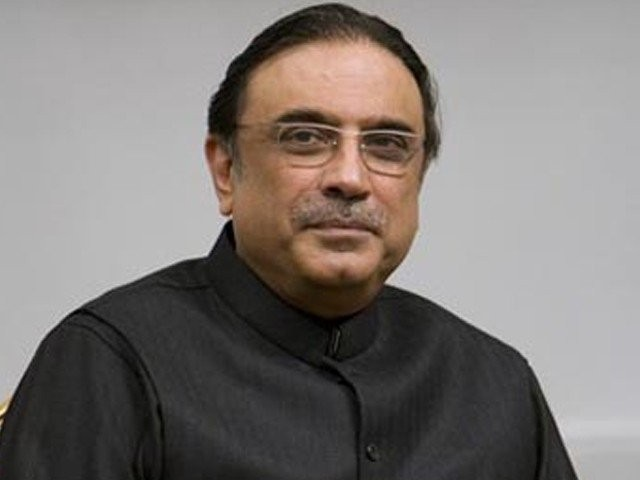 Former president Asif Ali Zardari. PHOTO: FILE